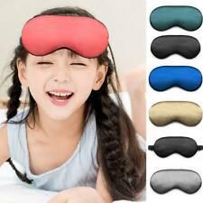 Luxury Organic Mulberry Silk Sleep Eye Masks Soft Adjustable Sleeping Aid. US