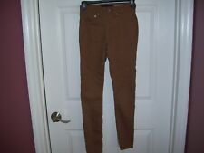 Junior girls  by Aeropostale, size 000, high wasted jeggings, brown, brand new.