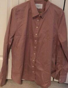THE SHIRT By Rochelle Behrens - Women's 2XL Button Front Shirt  - NEW
