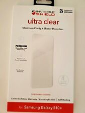 ZAGG Ultra Clear Screen Protector for Samsung Galaxy S10 Plus(Wont fit Note 10+)