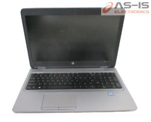 *AS-IS* HP ProBook 650 G2 Core i5-4300M 2.60GHz  No RAM No HDD Laptop (H98)