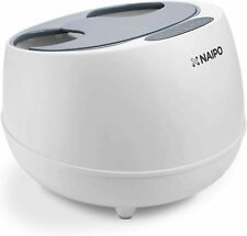 Naipo SFS-101 - oFlexiSpa Steam Foot Spa Bath Massager with Electric Rollers