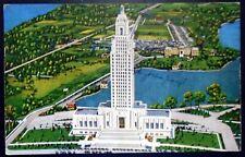 1940s Louisiana State Capitol Building, University Lake, Baton Rouge, LA