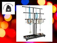 Jewelry Bracelet Necklace Tabletop Organizer Holder Storage Stand Display Rack