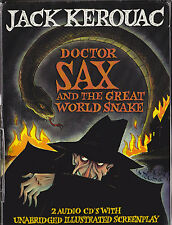 JACK KEROUAC DOCTOR SAX & THE GREAT WORLD SNAKE BOOK & CDS MULTIMEDIA EDITION