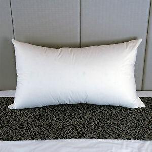 Dyne King Size 100% European Duck Feather Pillow - Reg Support - Australian Made