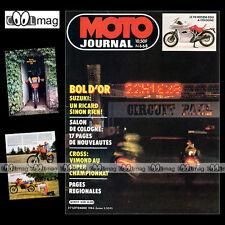 MOTO JOURNAL N°668 ATC YAMAHA 250 TriZ, HONDA XR 350, BOL D'OR, SALON KÖLN 1984