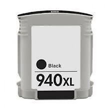 C4906ae (940XL) Compatible High Capacity Black Chipped Ink Cartridge for HP 1 of
