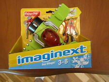Imaginext Sky Racers Airplane Sea Stinger Wing-flapping action Plane Pilot Jet