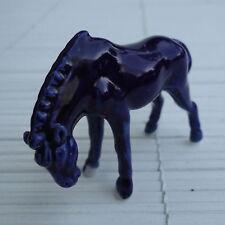 Cheval Miniature  Porcelaine 7 X 5 Cm Collection Vitri