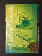 Australia SYDNEY OLYMPIC 2000 SHELL CANOE / KAYAK MEDAL  (MS/C1)