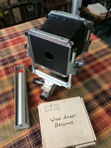 Sinar Norma 4x5 with Lens Board, Extra Rail, WA Bellows