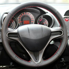Steering Wheel Cover For Honda Civic 2005-2011 8th MK8 Stitched Sewing S Leather