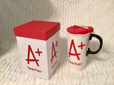 Brand New Ceramic or Porcelain A+ Teacher Mug - Free Shipping