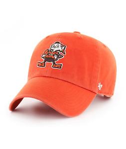 Cleveland Browns 47 Brand Clean Up Hat Adjustable Cap Brownie