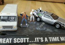 Johnny Lightning Back To The Future Dr. Emmitt Brown Van & Delorean Diecast Car