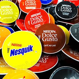 Nescafe Dolce Gusto Coffee pods *Latte Espreso Cappuccino* 2 6 12 20 32 capsules