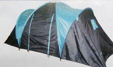 Skandika 4500 Hammerfest 4-Pers Familien /Kuppelzelt 2 Schlafkabinen 2m Zelt N4