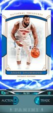2017 National Treasures BRONZE limited Andre Drummond 46/99 Dunk App X15