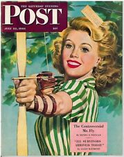 The Saturday Evening Post Alex Ross July 22 1944 Vintage Birthday Gift