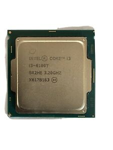 Intel® Core™ i3-6100T, 6th Gen, Dual Core, 3.2GHz with 3MB Cache, LGA1151