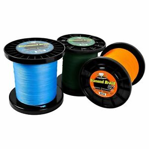 Momoi Diamond Braid Generation III 8x Fishing Line - 300 Yards - Pick Color/Test
