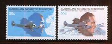 ANTARTIDA/ANTARCTICA AAT 1979 MNH SC.L35/L36 1st.Flight over South Pole, R.Byrd