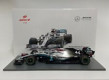 Spark 1/18 Model Car F1 Mercedes AMG Hamilton Test Barcelona 2020 Static