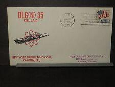USS TRUXTUN DLGN-35 Naval Cover 1963 MORRIS BECK Cachet KEEL LAID