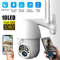 1080P PTZ Security WIFI Camera Waterproof Outdoor Wireless IP CCTV Pan IR Cam