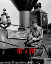 "Buster Keaton~General~Silent Film Comedian~Poster~Photo~ 16"" x 20"""
