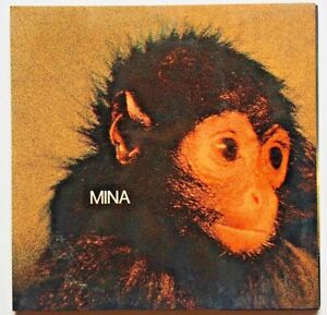 Mina Scimmia Copertina Laminata apribile trifold PDU Italy Mogol Battisti LP