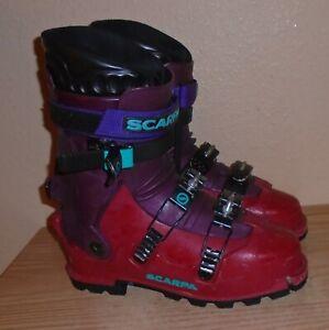 Scarpa Denali boots alpine touring, Men's US 10-11 sx