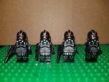 Custom Lego Star Wars Shadow Clone Troopers Dark Black 501st 75079