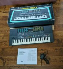 Yamaha Portasound PSS-480 Music Station Keyboard Digital Synthesizer box manual