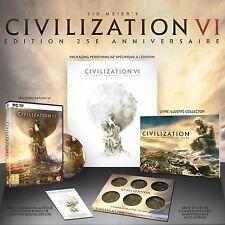 Sid meier's, Civilization 6 vi 25th Anniversary Edition pour pc, nouveau & OVP