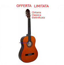 Chitarra Classica Elettrificata Preamplificata 4 bande OFFERTA SPECIALE