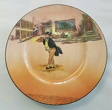 "ROYAL DOULTON china Dickens Ware MR. PICKWICK Dinner Plate Plate 10 3/8"" D6327"