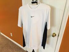 Men's Size Small Nike Dri Fit Shirt White/Black