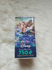 New! Full Size! Little Mermaid Thomas Kinkade Dreams Puzzle 750 Ariel Disney
