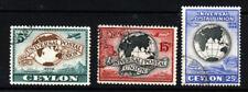 Independent Nation George VI (1936-1948) Ceylon Stamps