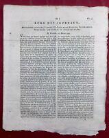 Saint Nazaire en 1792 Cévennes Calviniste Corse Cordo Auch Clubs Politiques