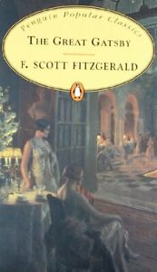 The Great Gatsby By F Scott Fitzgerald. 9780140623239