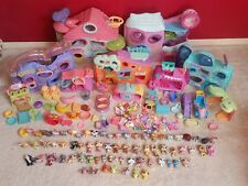LITTLEST PET SHOP HUGE BUNDLE JOBLOT PLAYSETS LPS ACCESSORIES HOUSES GYM
