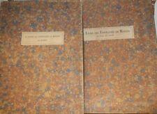 LE LIEUR Livre des Fontaines de Rouen Manuscrit 1524 86 planches tirage limité