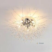 Modern 5 Lights Crystal Pendant Chandelier Fireworks Light Ceiling Lamp Fixtures