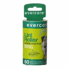 """LM Evercare Pet Hair Adhesive Roller Refill Roll 60 Sheets - (29.8' Long x 4"""" Wi"""