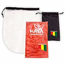 WAKACON Premium Kava Strainer Bag Extra Black Carry Bag To Keep Your Strainer