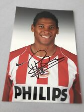 MICHAEL LAMEY  PSV EINDHOVEN  In-person signed Foto 10 x 15 Autogramm