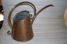 Vintage Gregorian Small Hammered Solid Copper Watering Can ~ Usa